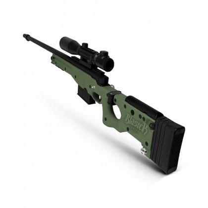 Jie Ying Swift Hawk AWM (Manual) Gel Blaster (Green)