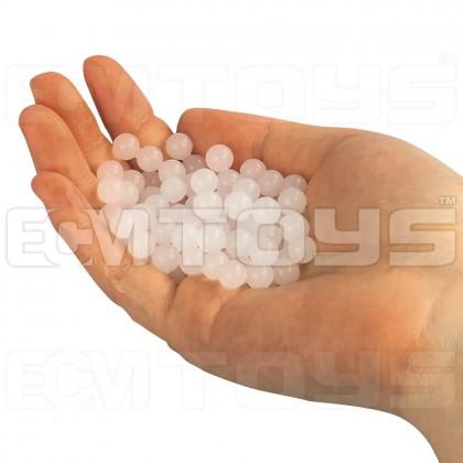 10,000pcs 7-8mm Extra Hardened Gel Water Ball (Milky White)