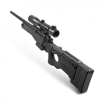 Jie Ying Swift Hawk AWM Sniper (Manual) Nerf Gel Blaster (Black)