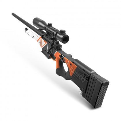 Jie Ying Swift Hawk AWM Sniper (Manual) Nerf Gel Blaster (Orange)